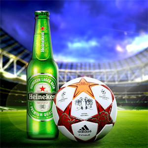 Design and development of iPad games for Heineken